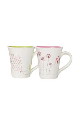 2 Mugs crer para ver