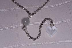 Petit coeur blanc