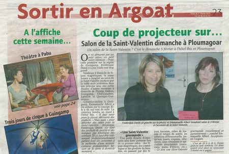 Article de l'echo